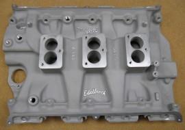 Edelbrock F380 FE-FORD Big Block 3-Deuce Intake Manifold