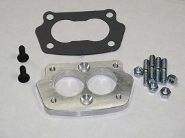 Small 4 Bolt Carb to 3 Bolt Intake Adaptor
