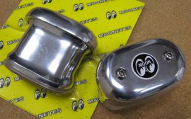 SOLD - 2 MoonEyes Low Boy Valve Cover Breathers