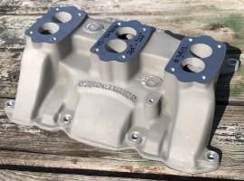 "Offenhauser #3413 - 264""-322"" Buick Nailhead 3x2 Intake Manifold"