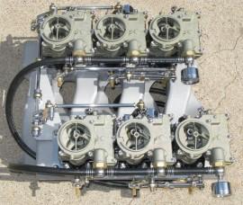 Rochester 2GC Carburetor - Complete Banjo Fitting Sets